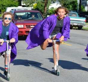 Electric scooters contribution to change